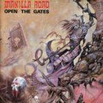 Manilla Road - Open The Gates Cover