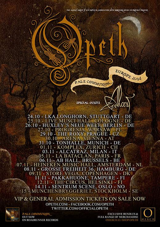 Alcest Tour  Setlist