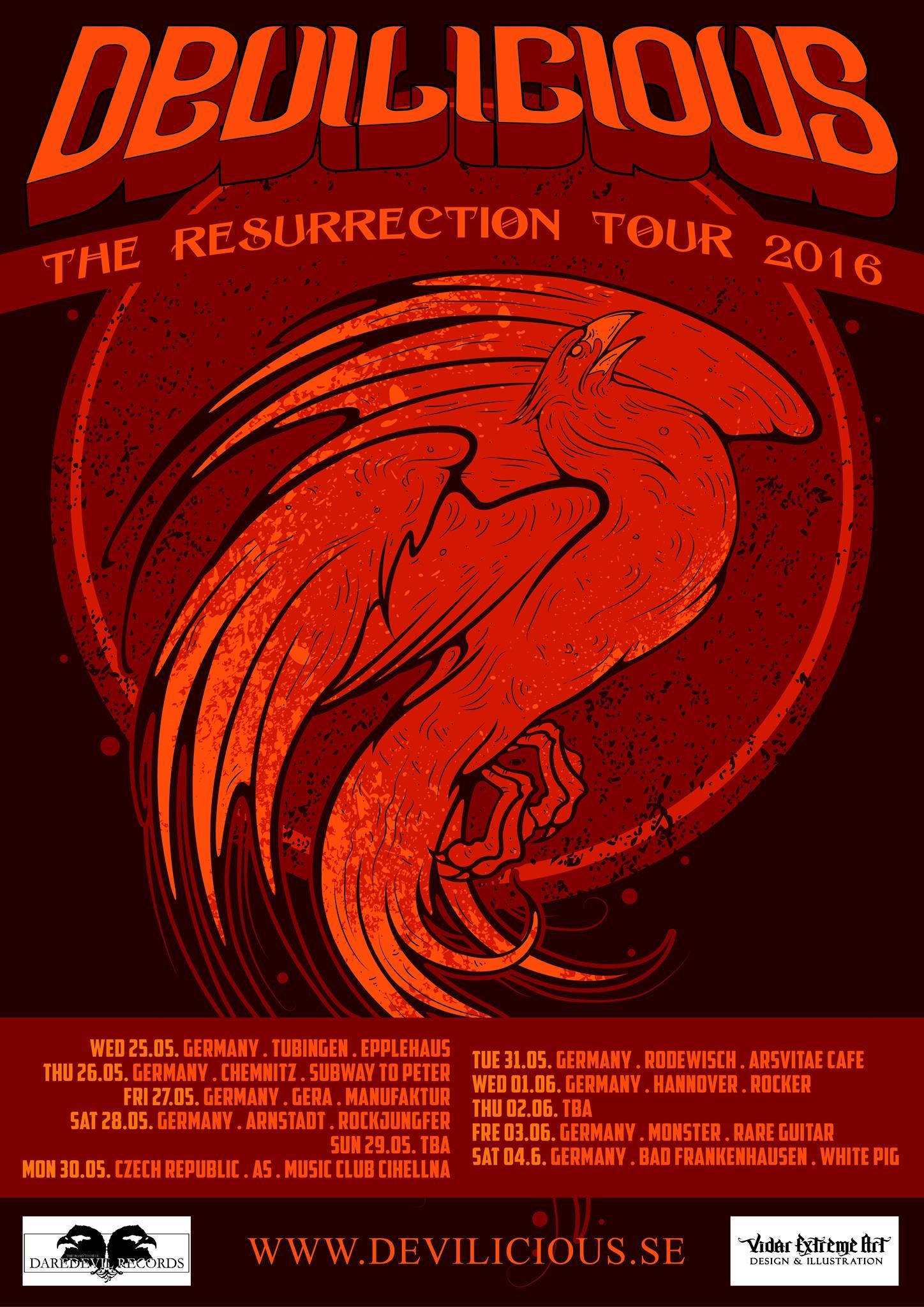 Devilicious Tour 2016
