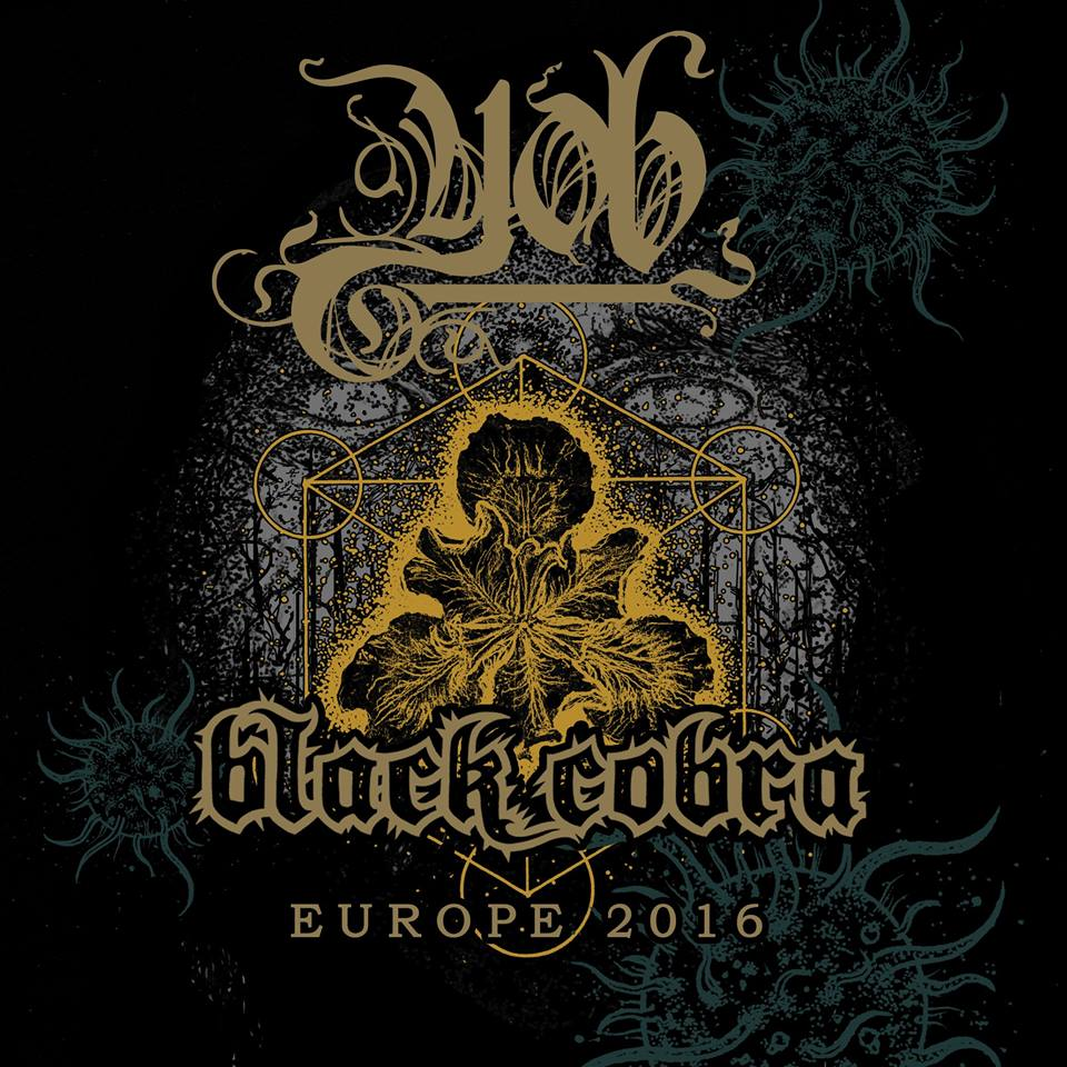 Yob & Black Cobra Tour 2016