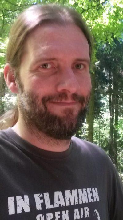 metal.de-Redakteur Christian Popp