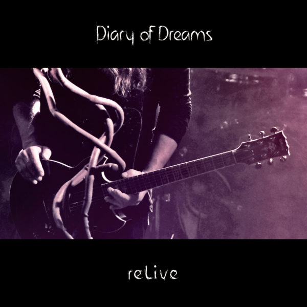Diary Of Dreams - reLive (Cover Artwork)