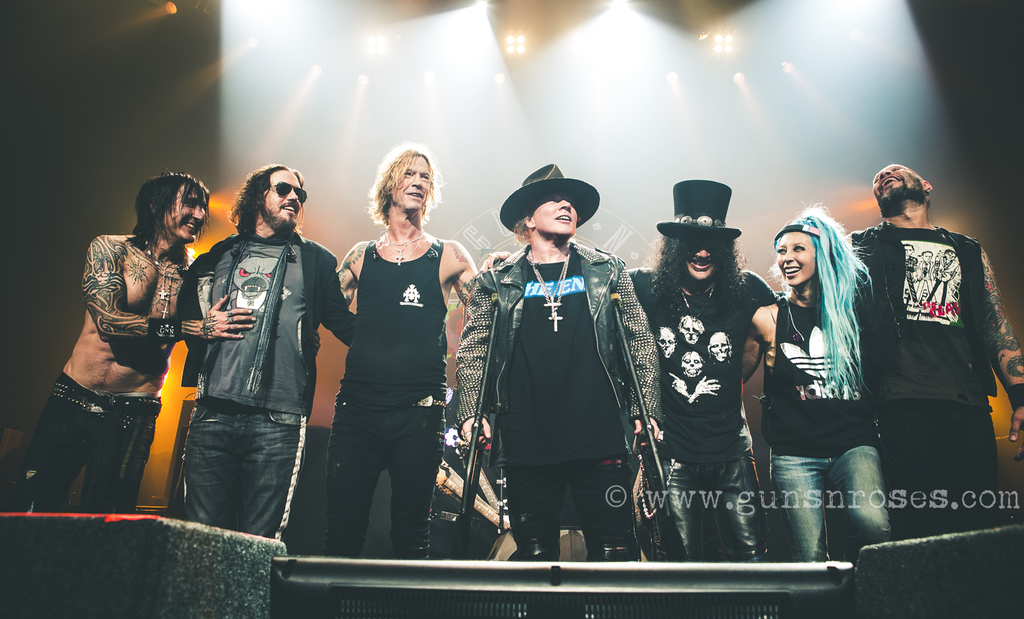 Guns N Roses Not In This Lifetime 2018 Metalde