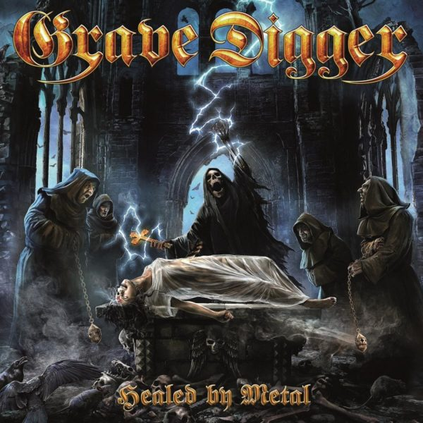 "Cover von GRAVE DIGGERs ""Healed By Metal"""