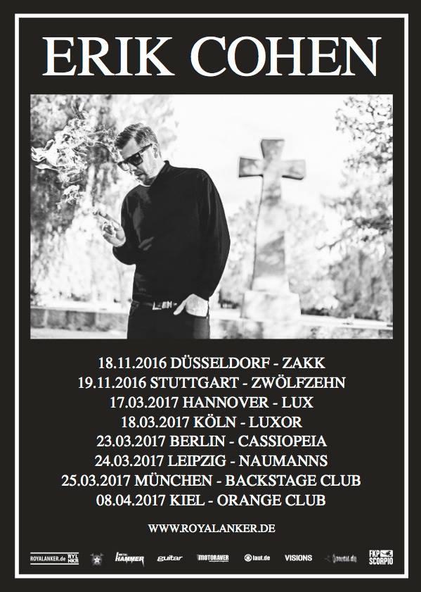 Erik Cohen - Tour 2017