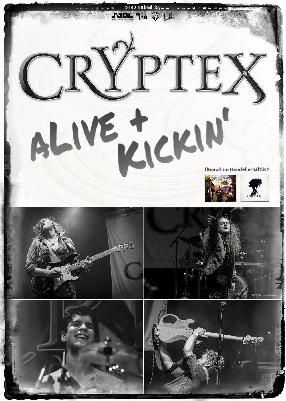 Cryptex-Tourposter - Alive + Kickin'