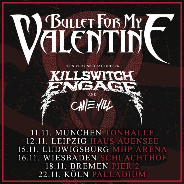 Bullett For My Valentine, Killswitch Engage (Tourplakat)