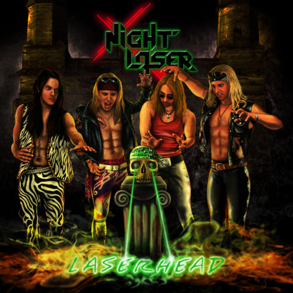 Coverartwork von Night Laser - Laserhead