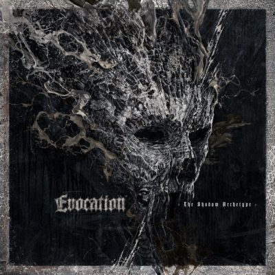 "Cover von ""The Shadow Archetype"" der Schweden EVOCATION"