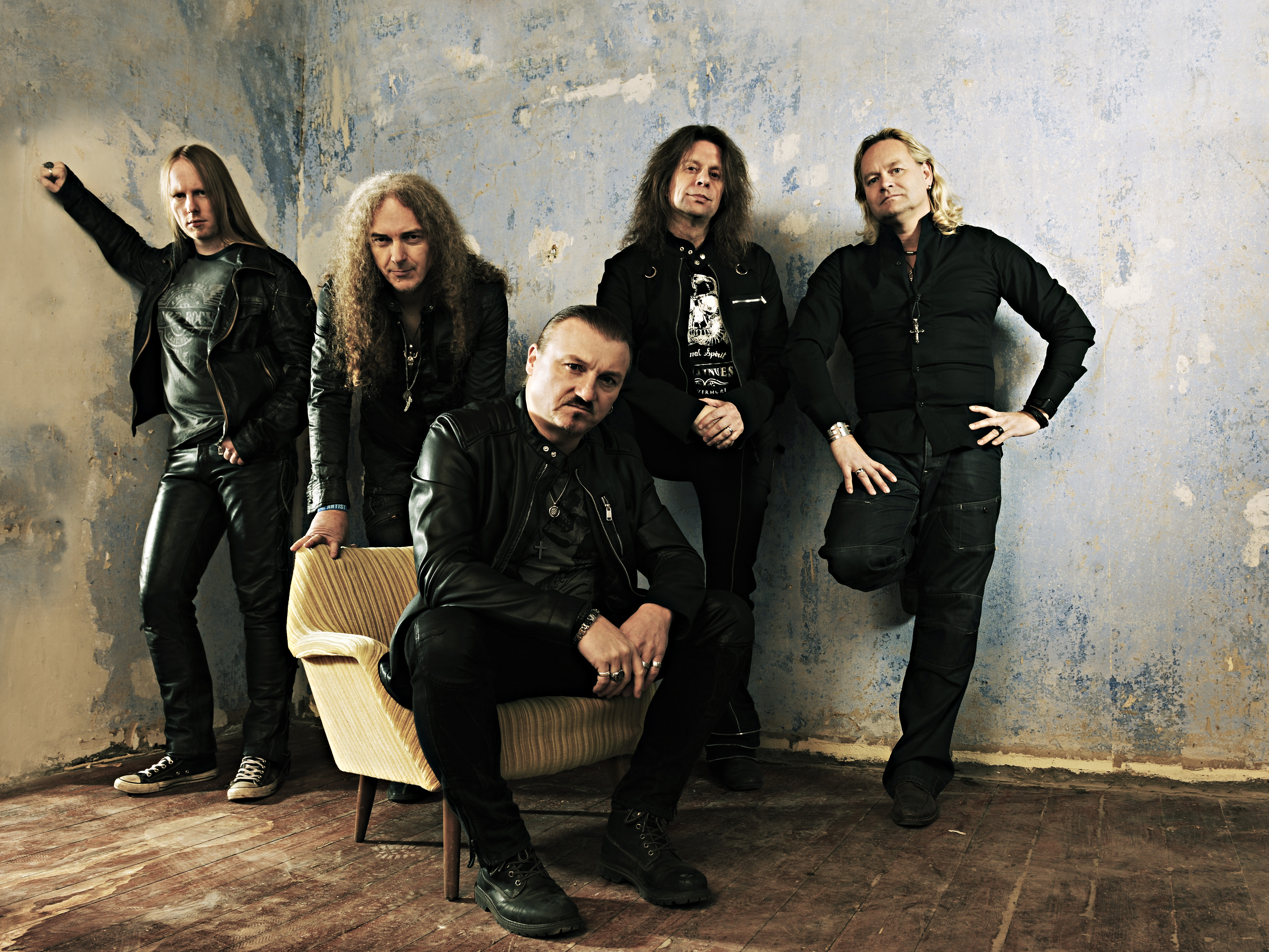 AXXIS Bandfoto 2017