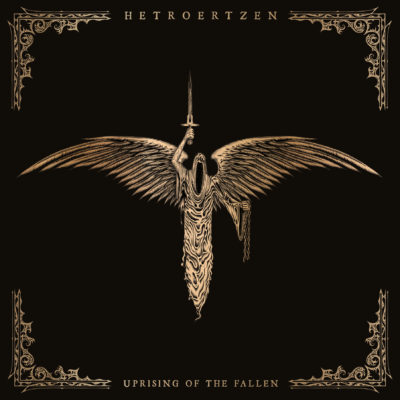 Albumcover Hetroertzen - Uprising of the Fallen