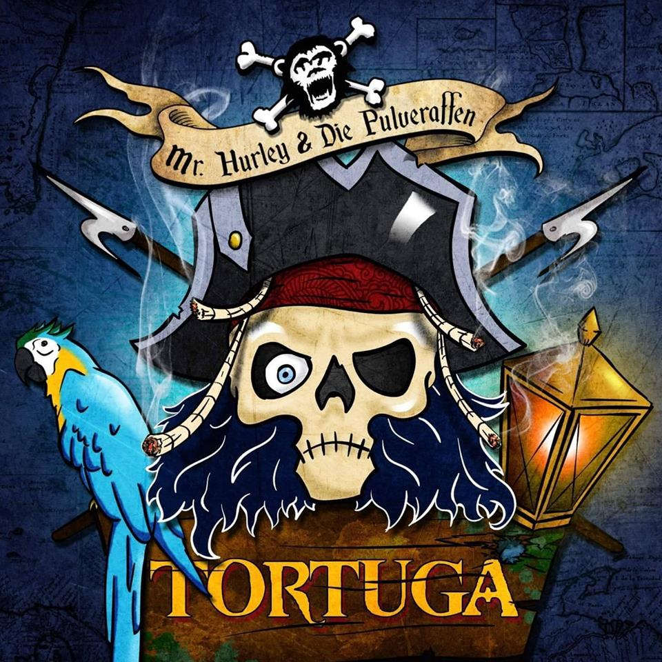 Mr. Hurley & Die Pulveraffen - Tortuga (Cover Artwork)