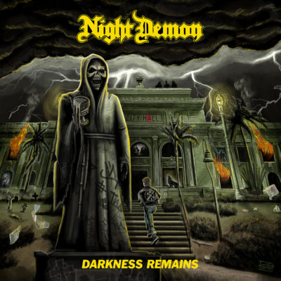 Night Demon - Darkness Remains (Artwork)