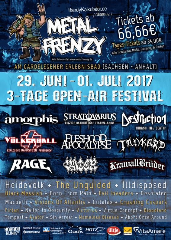 Metal Frenzy Open Air 2017
