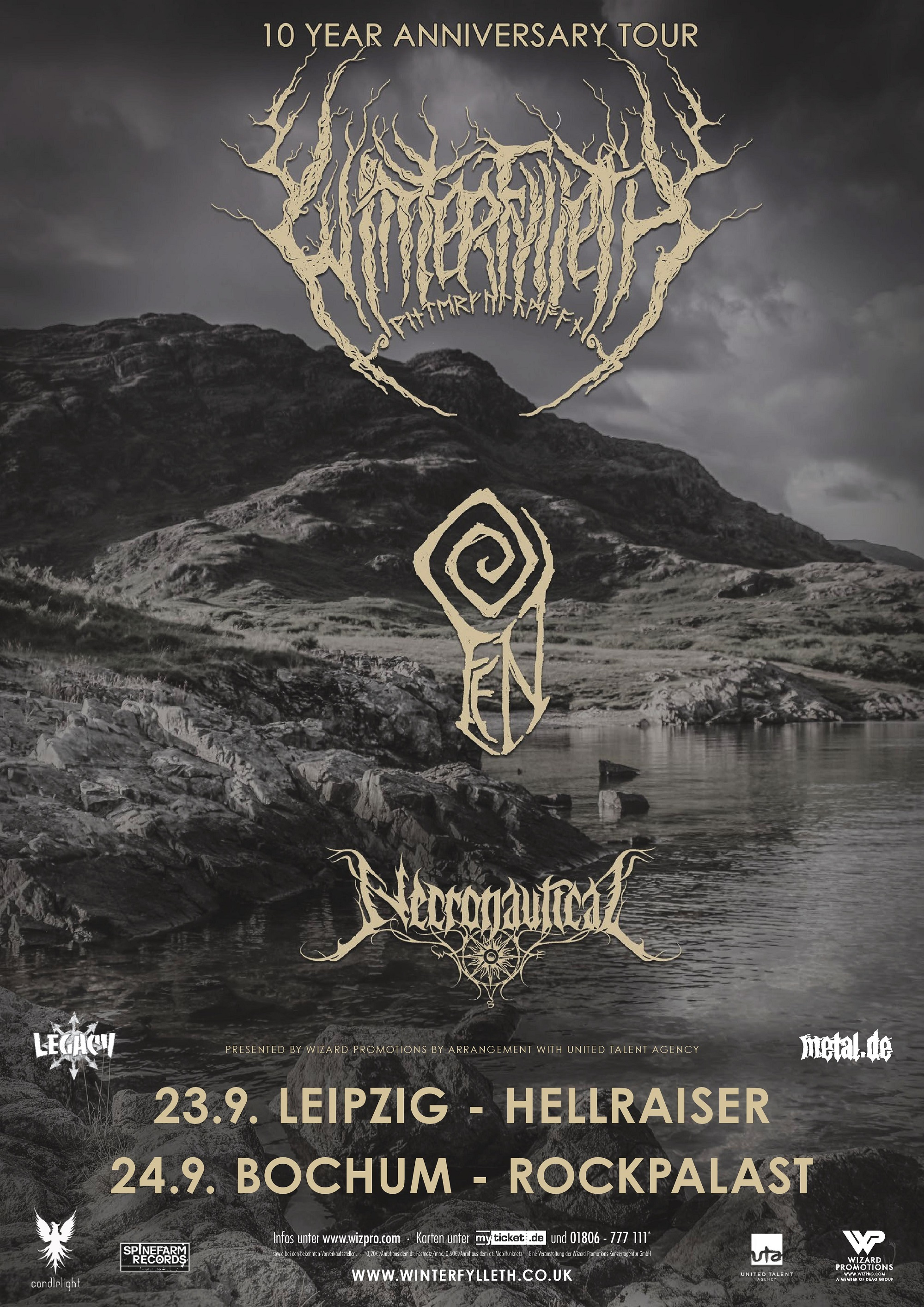 Bild Winterfylleth Tour Poster 2017