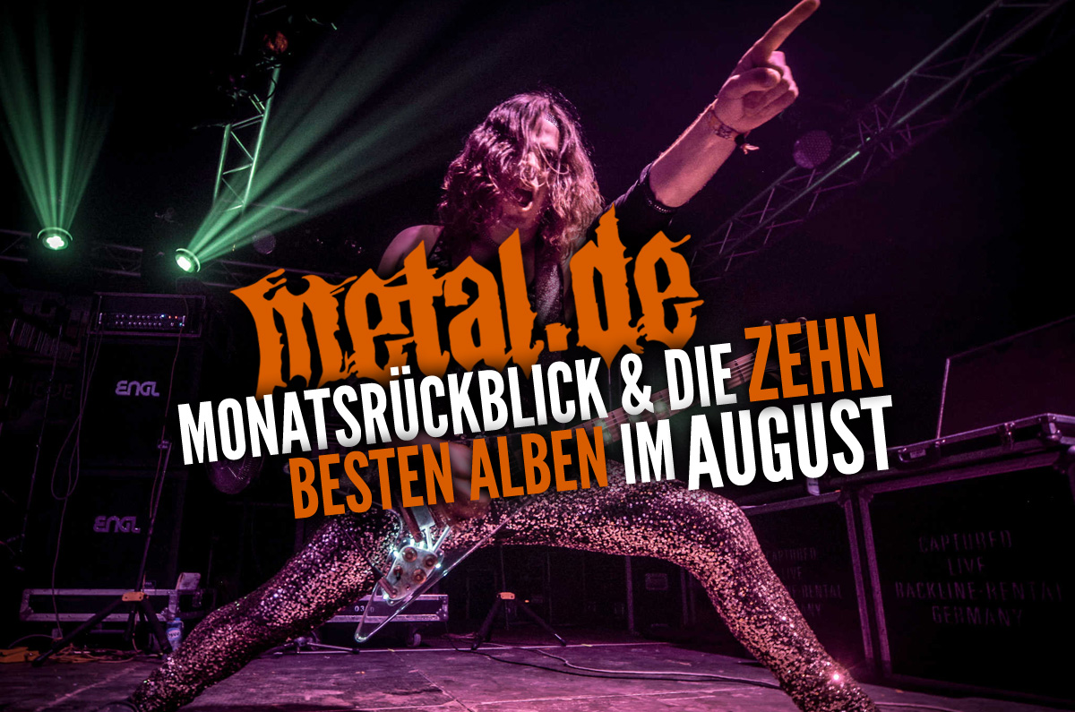 Der große Monatsrückblick August 2019: Special auf metal.de