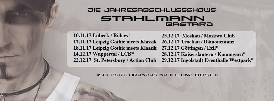 Tourplakat Stahlmann Die Jahresabschlussshows 2017