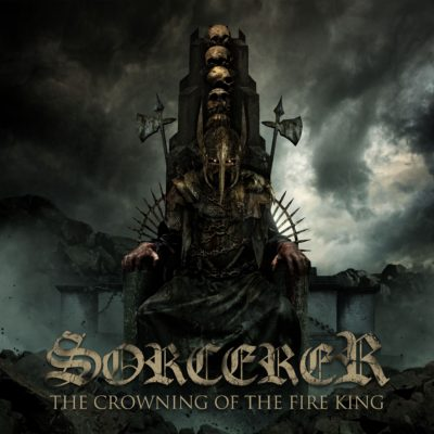 Bild Sorcerer The Crowning Of The Fire King Album 2017 Cover Artwork