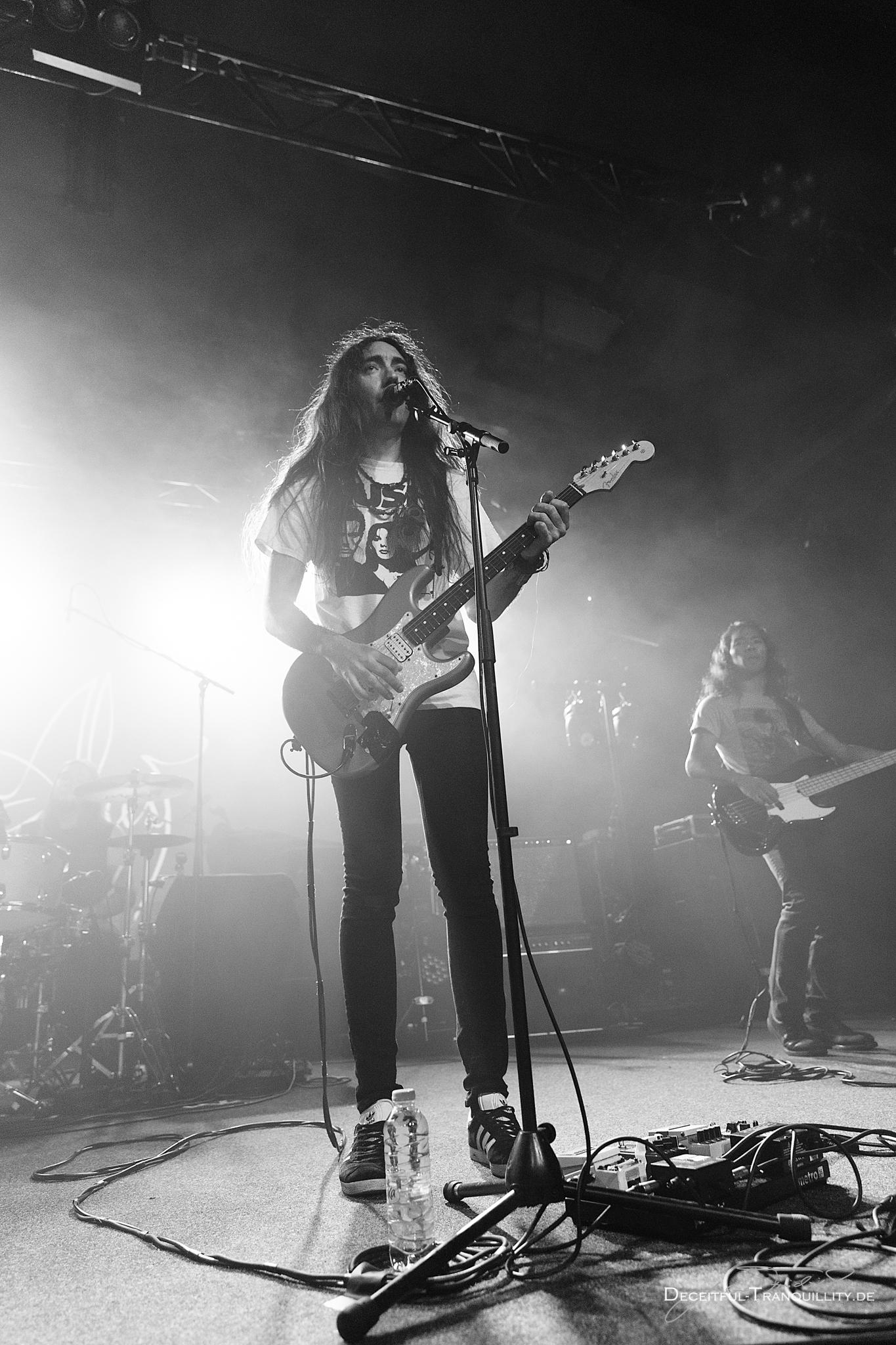 Konzertfoto von Alcest auf der The Optimist Europe Tour 2017