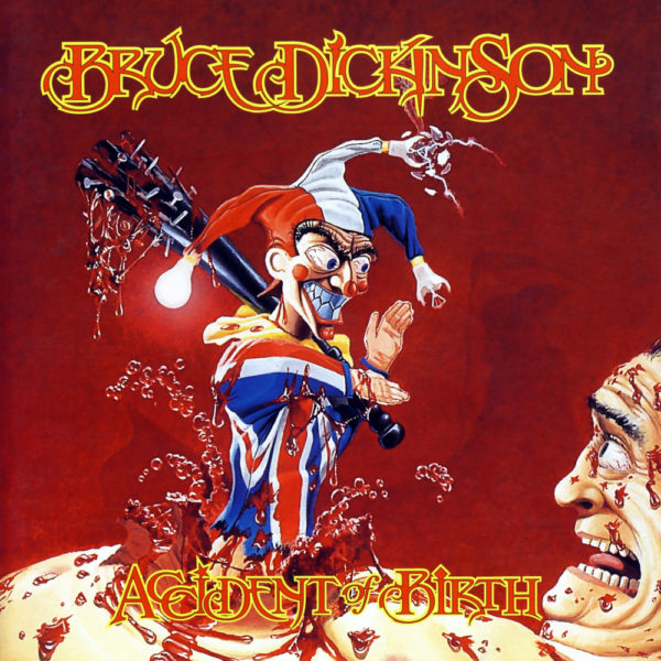 "Coverartwork von Bruce Dickinson ""Accident Of Birth"""