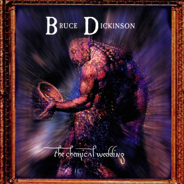 "Coverartwork von Bruce Dickinson ""The Chemical Wedding"""