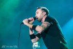 Konzertfotos von Rise Against auf der Tour 2017