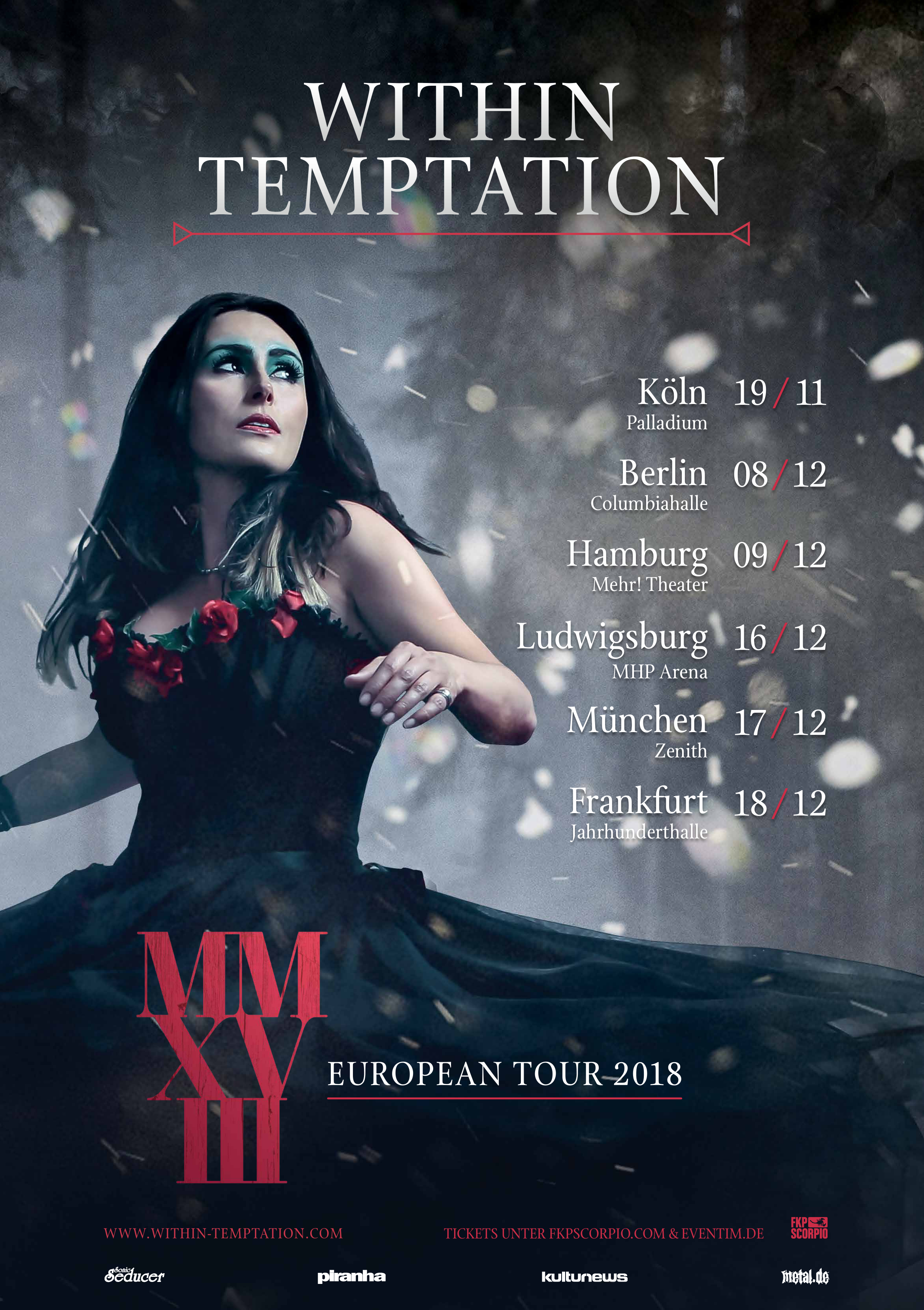 Within Temptation Tour 2018
