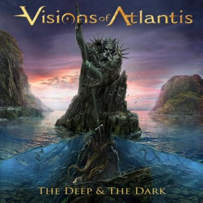 Visions Of Atlantis - The Deep & The Dark (Cover-Artwork)
