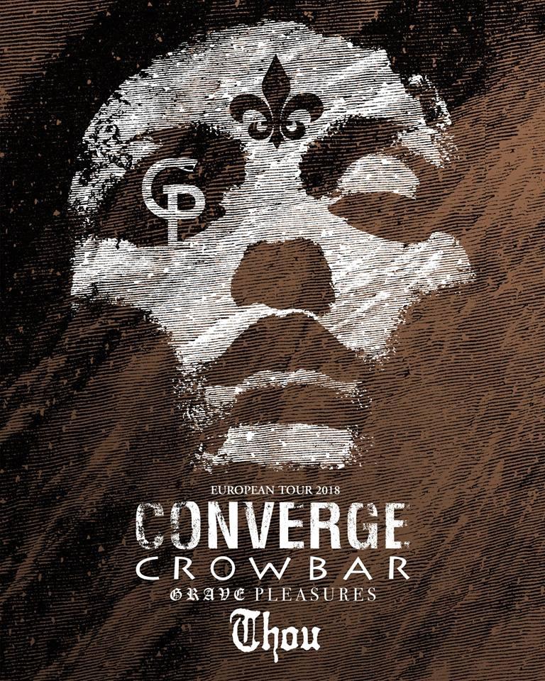 Bild Converge Crowbar Co Headliner Europa Tour 2018 Flyer