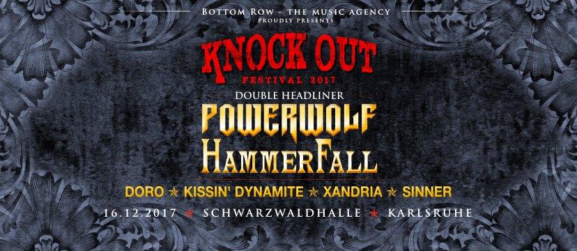 Festivalplakat der beteiligten Bands 2017