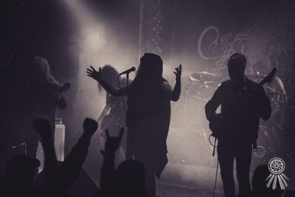 Konzertfoto von Sinmara - Astral Maledictions Tour 2017