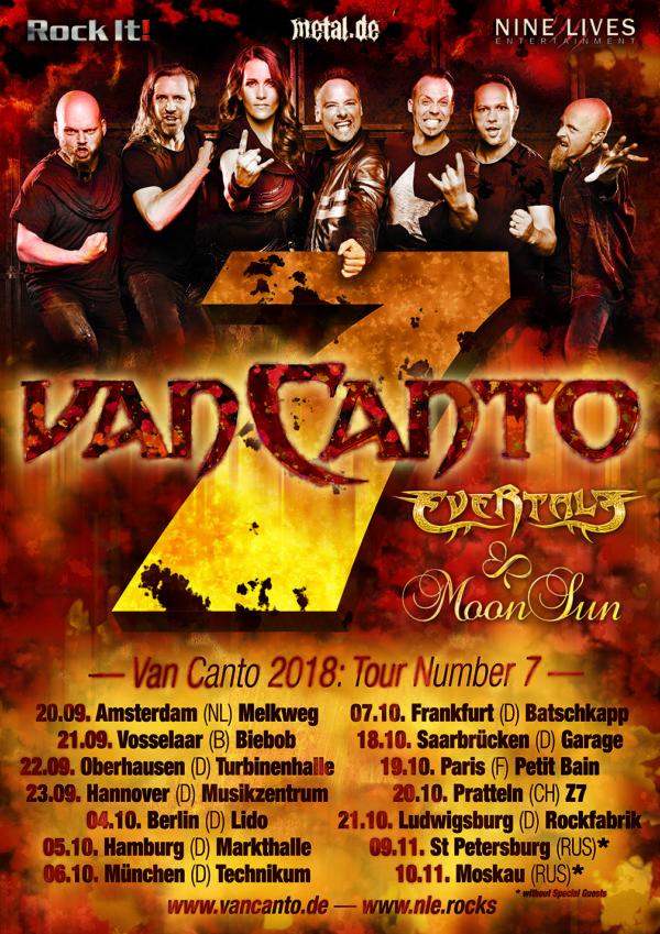 Van Canto - Tour Number 7 • metal.de