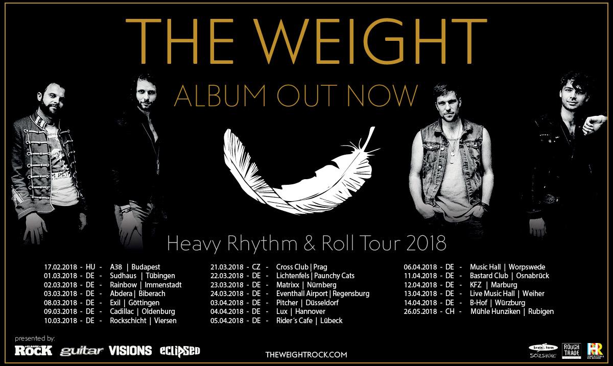 Tourbanner von The Weight 2018