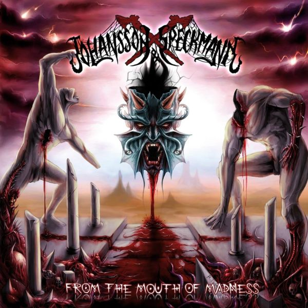 Bild Johansson & Speckmann From The Mouth Of Madness Album 2018 Cover Artwork