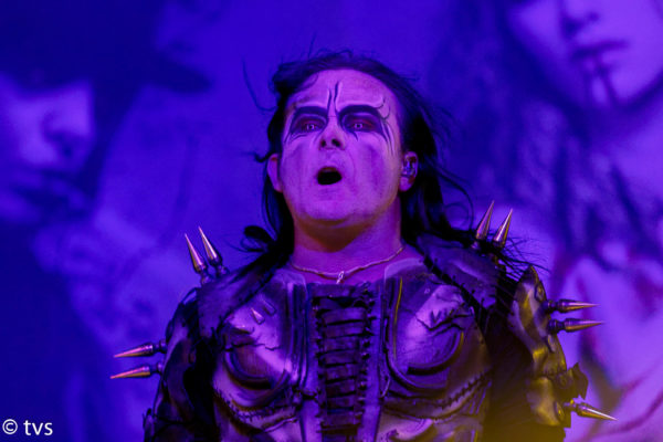 Fotos von Cradle Of Filth auf der Cryptoriana World Tour - Europe 2018