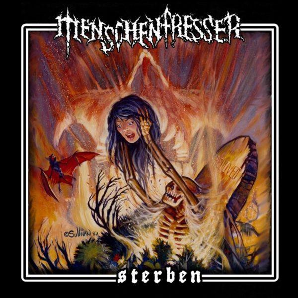 """Cover von """"Sterben"""" von MENSCHENFRESSER"""