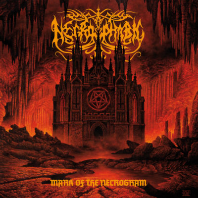 Cover Artwork Necrophobic Mark Of The Necrogram Album 2018