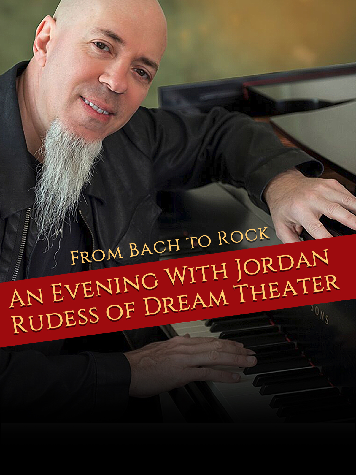 Tourplakat Jordan Rudess of Dream Theater