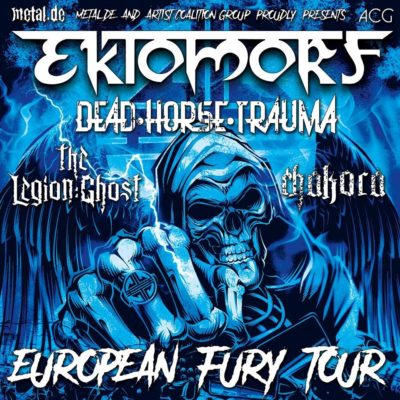 Tourplakat Ektomorf EuropeanFury Tour 2018