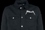 Metallica Jeansjacke Front