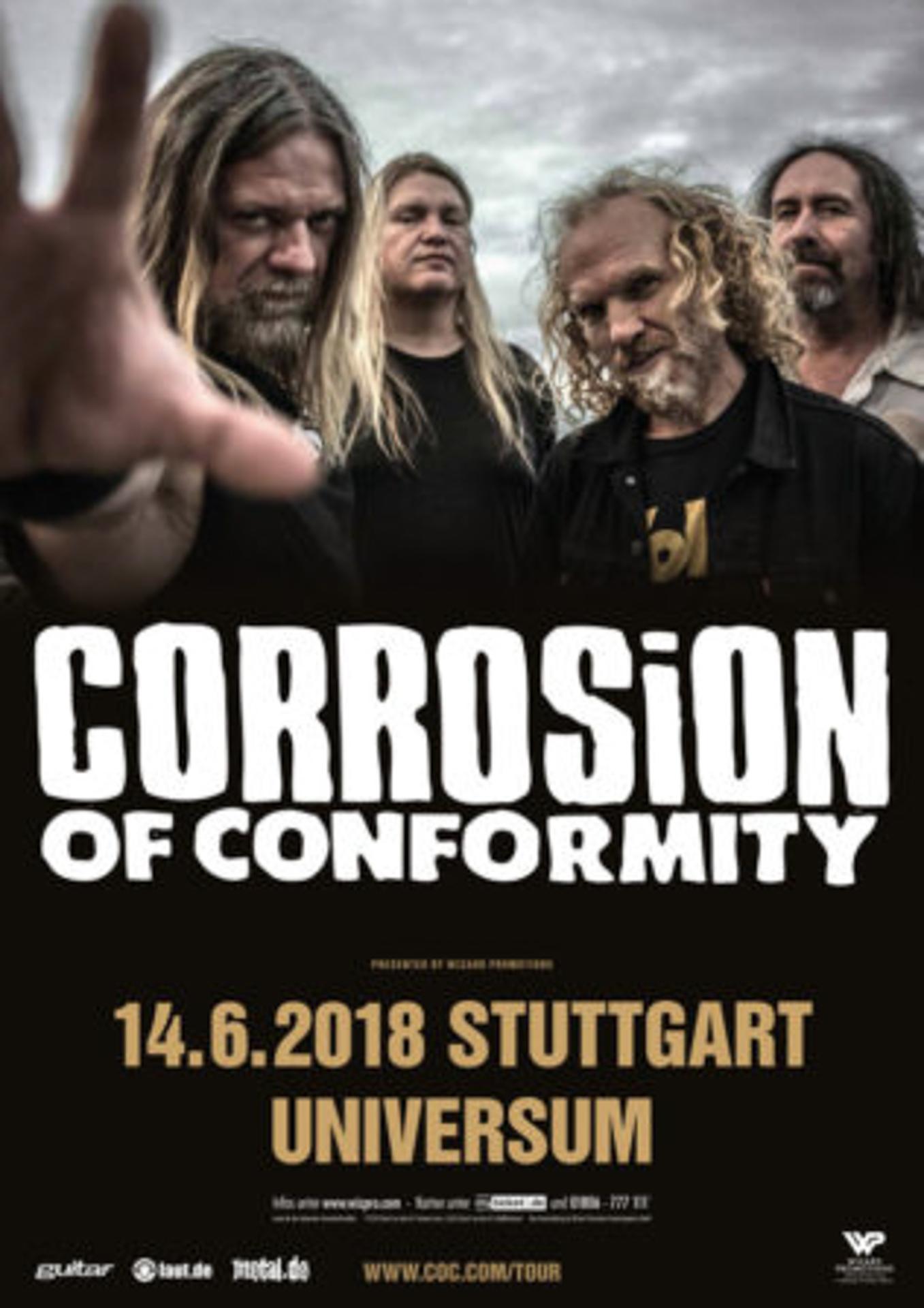 Corrosion Of Conformity Stuttgart 2018
