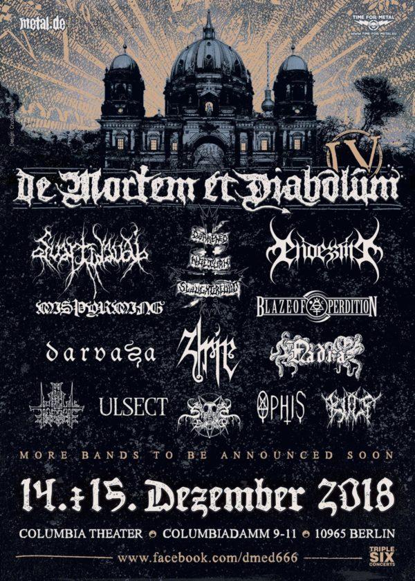 Bild De Mortem Et Diabolum 2018 Poster
