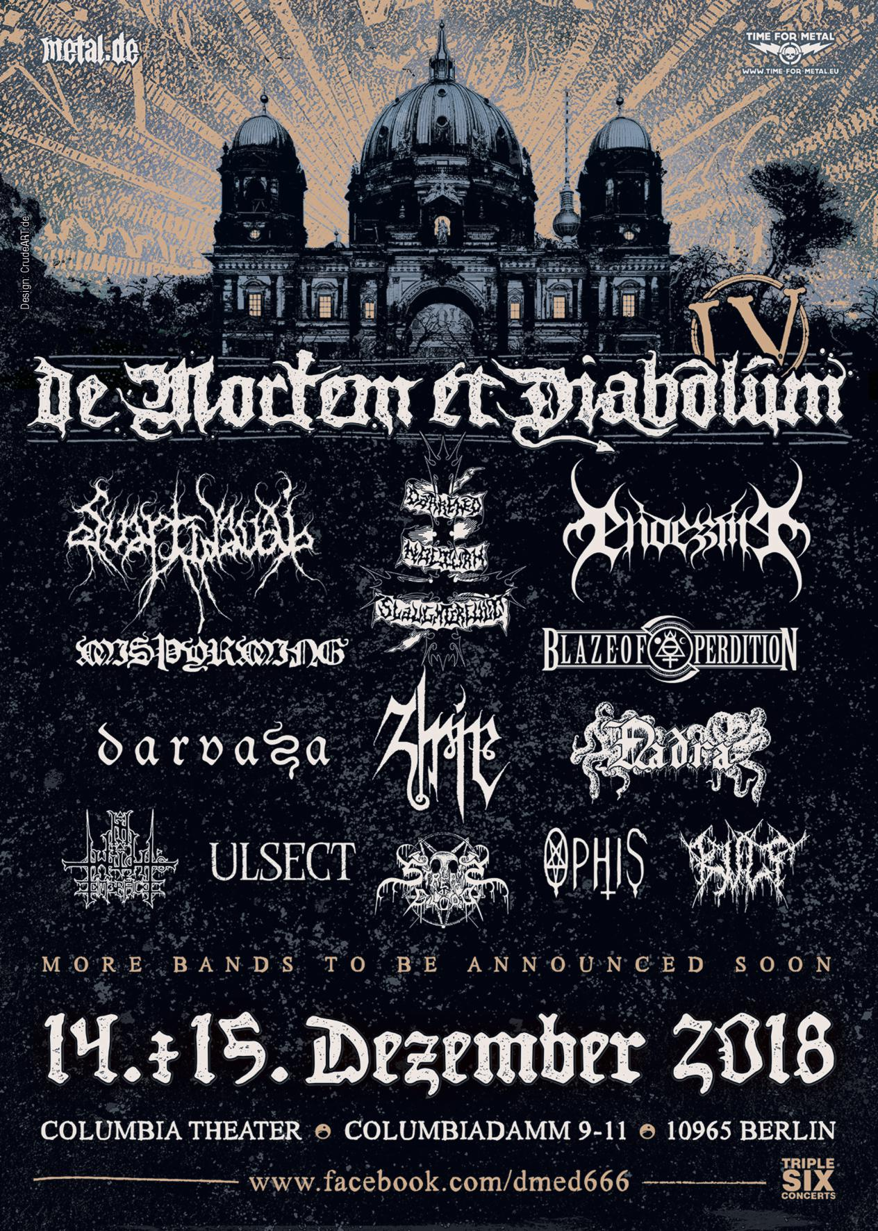 Bild De Mortem Et Diabolum Poster 2018