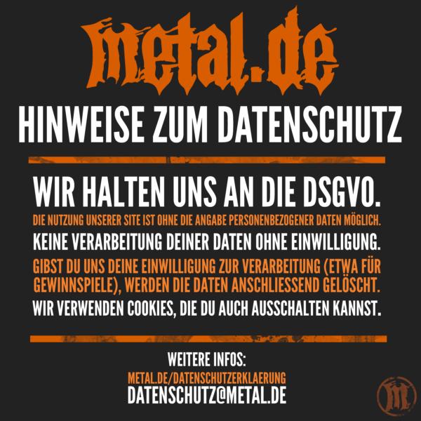 metal.de ist der Datenschutz wichtig