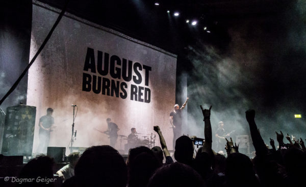 KOnzertfoto von August Burns Red in Stuttgart 2018