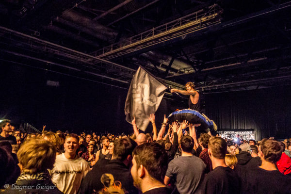 Konzertfoto von In Hearts Wake in Stuttgart 2018