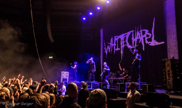 Konzertfoto von Whitechapel in Stuttgart 2018