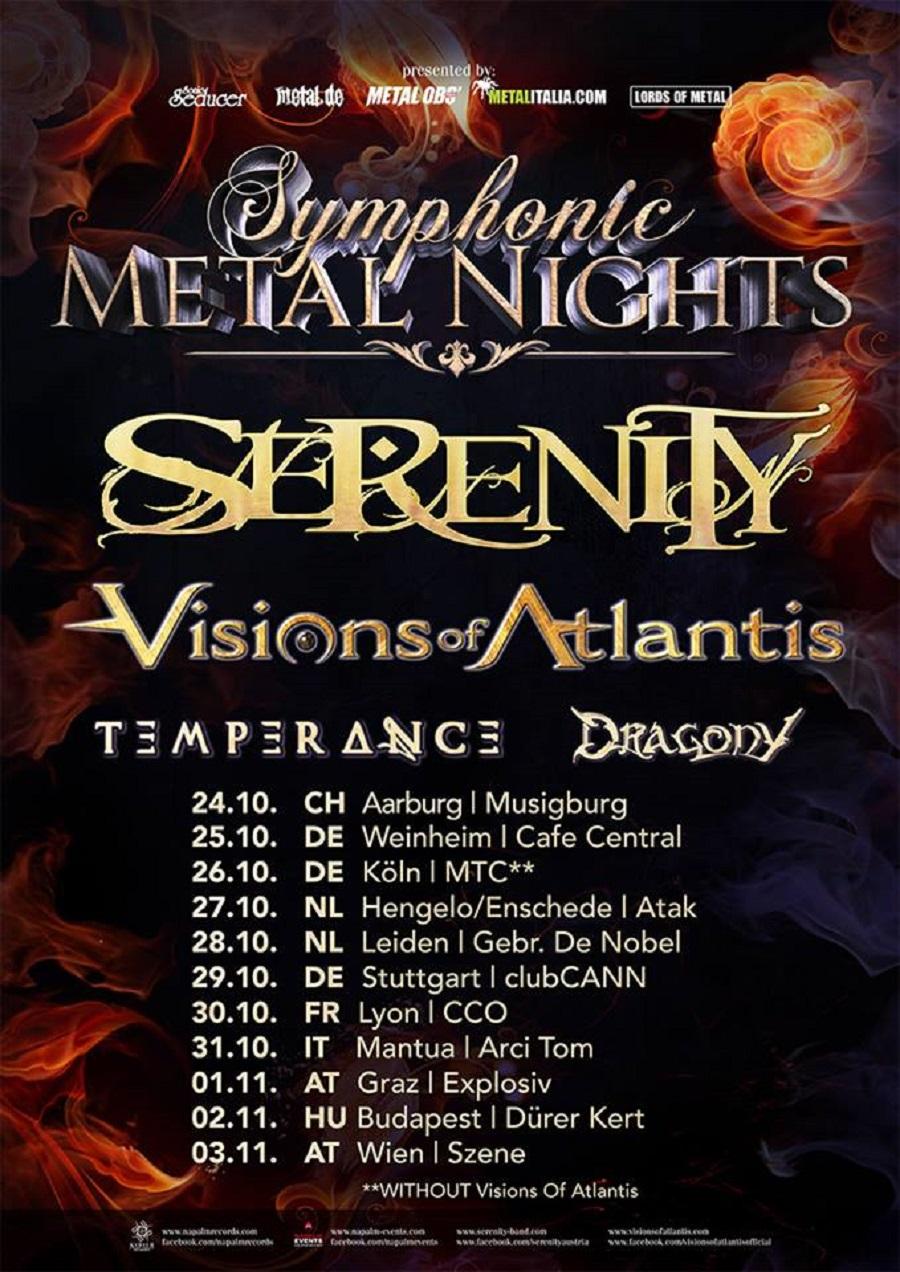 Symphonic Metal Nights - Tourposter