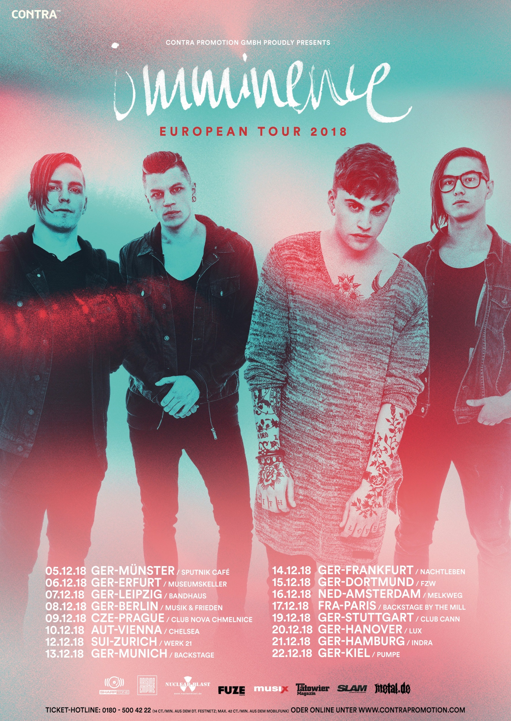 IMMINENCE - Tour 2018