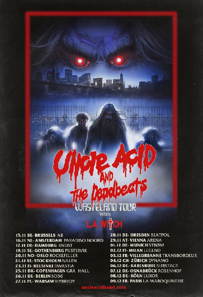 Uncle Acid Tour Poster 2018